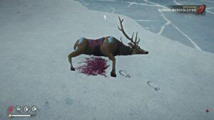 The Long Dark mrtvý jelen