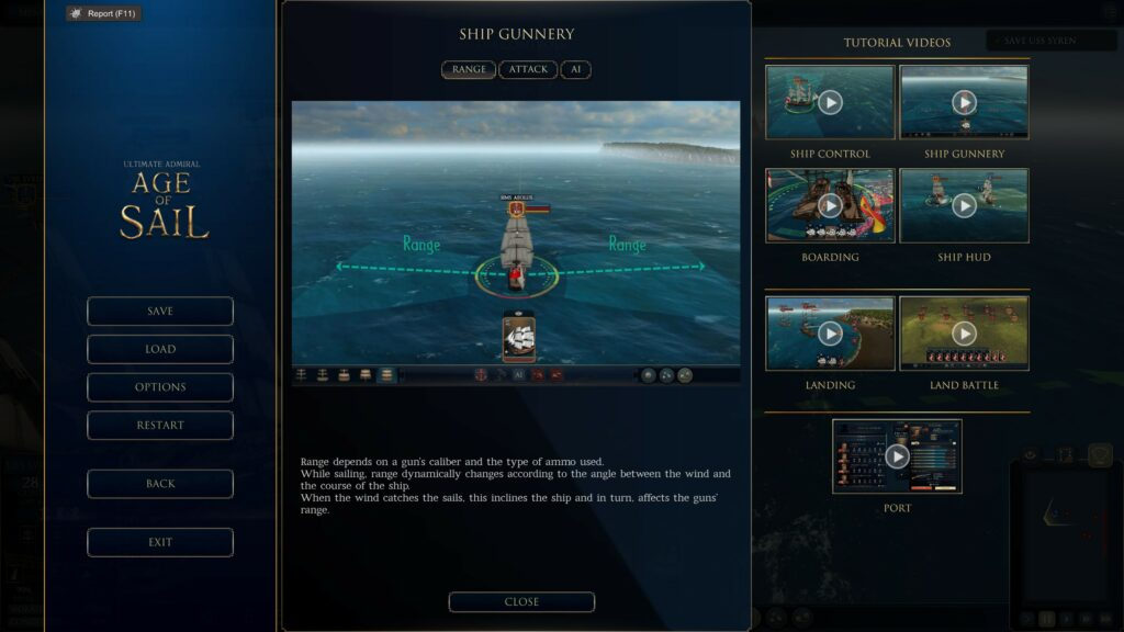 Ultimate Admiral Age of Sail tutorial