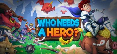 Who Needs a Hero – logo