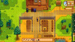 zasazení letní farmy