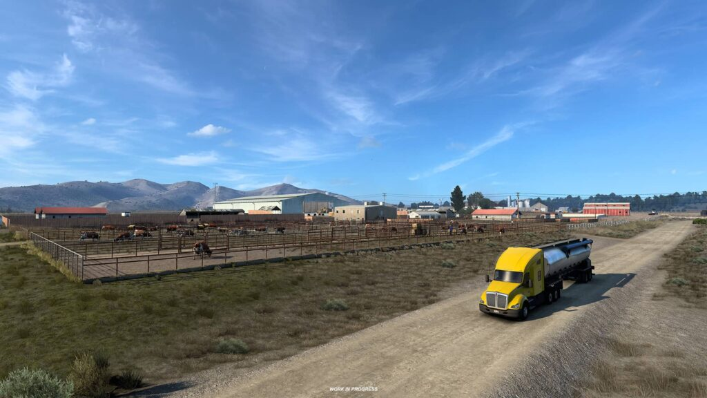 ATS Wyoming - farma