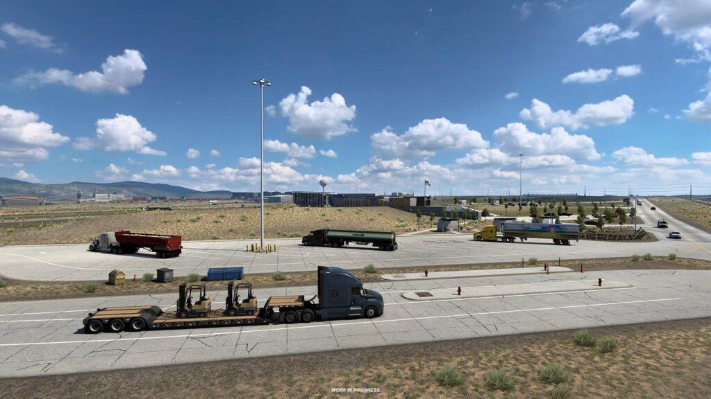 ATS Wyoming - několik kamionů