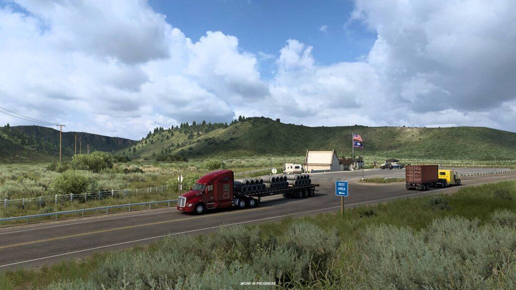 ATS Wyoming - příroda