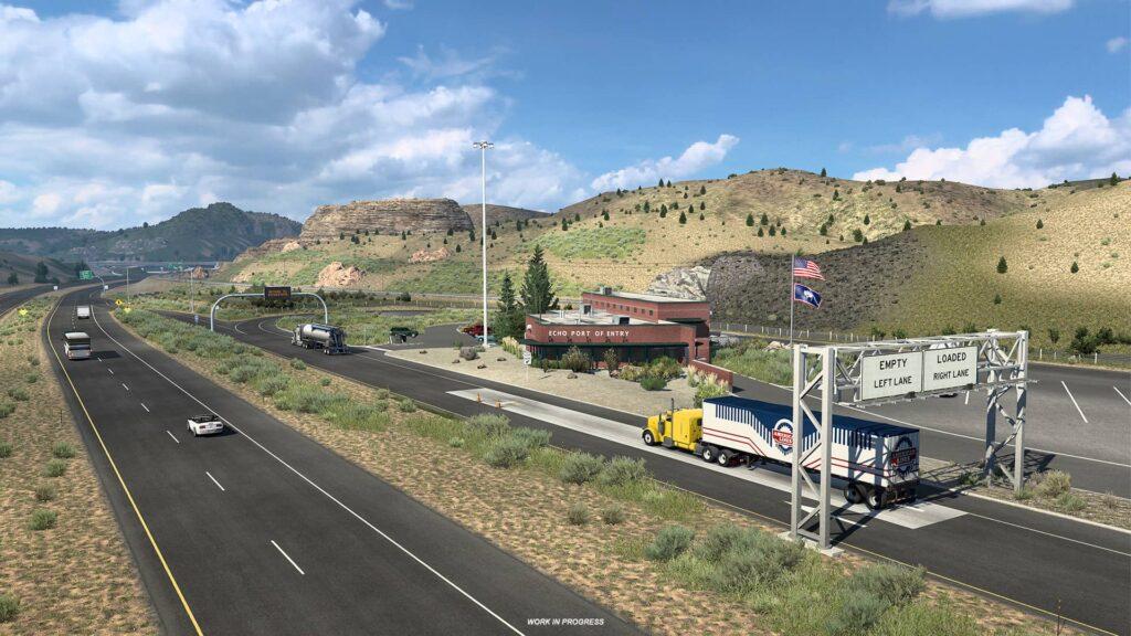 ATS Wyoming - vážící stanice