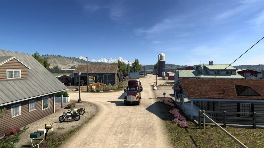 ATS Wyoming - zemědělství