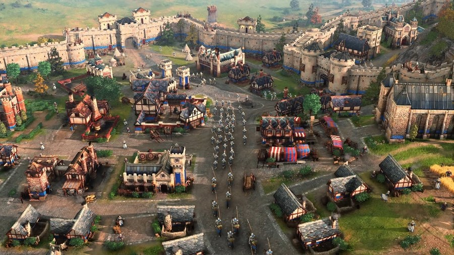 Age of Empires IV city