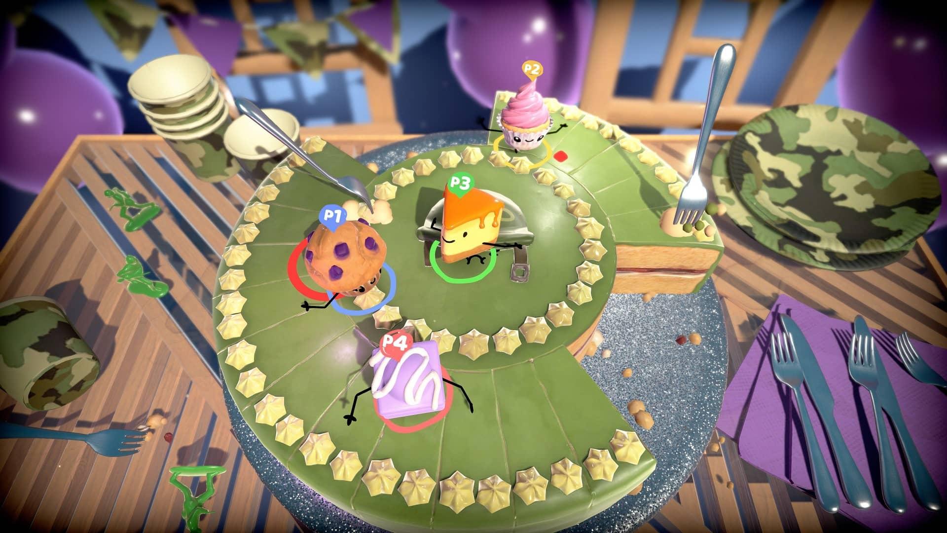 Cake Bash - hra o přežití