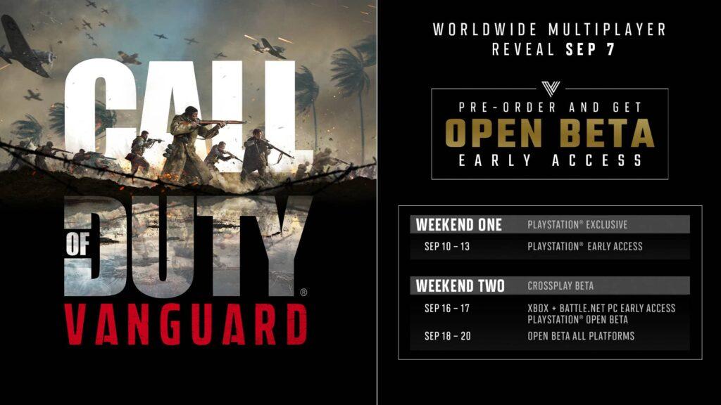 Call of Duty Vanguard - open beta