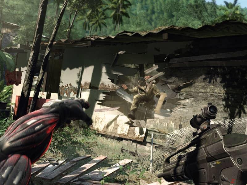 Crysis Remaster – nové dveře