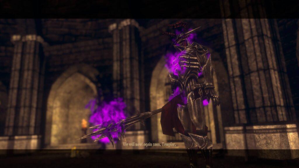 Dead Templar – boss