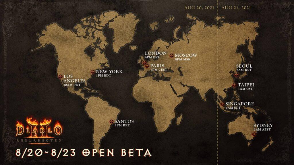 Diablo II Resurrected - open beta