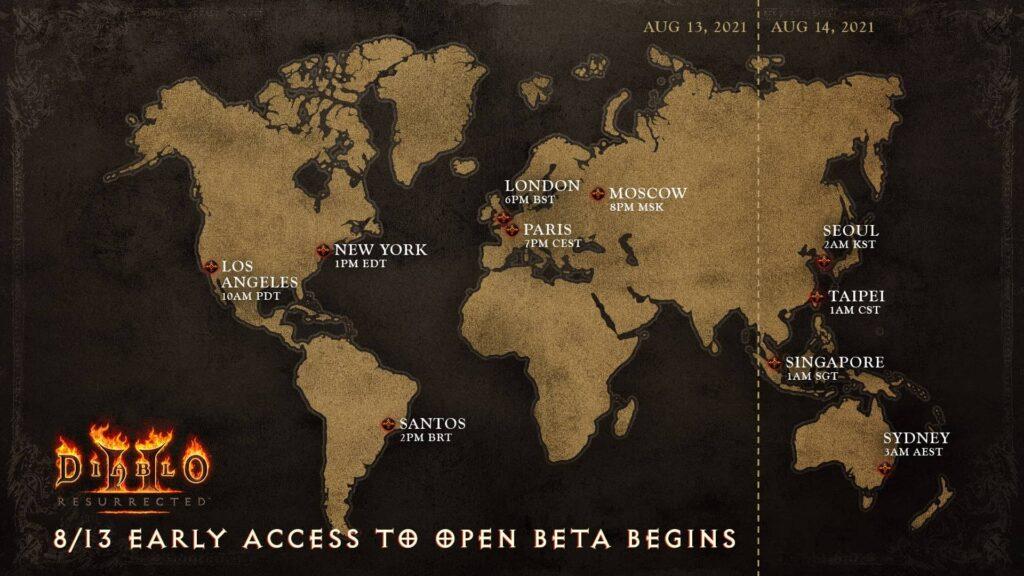 Diablo II Resurrected - předběžná open beta