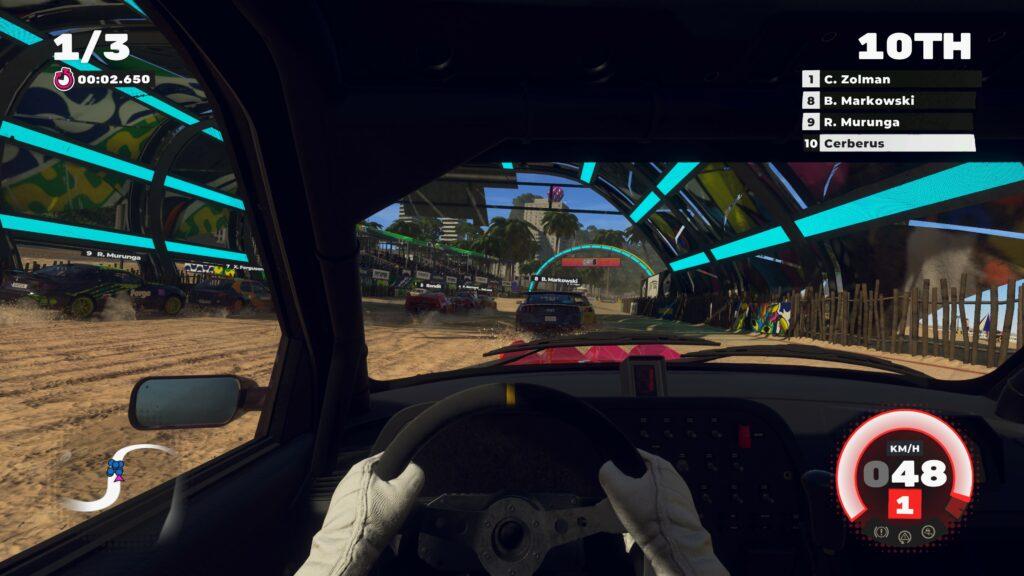 Dirt 5 cockpit