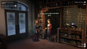 Dreamscaper – rozhovor v knihovně