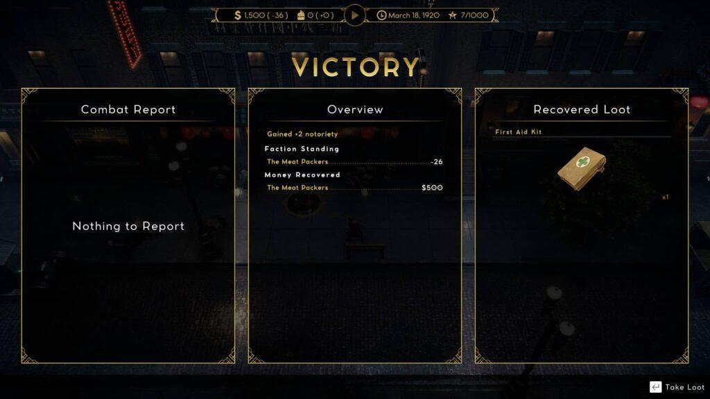 Empire of Sin – vítězství je naše