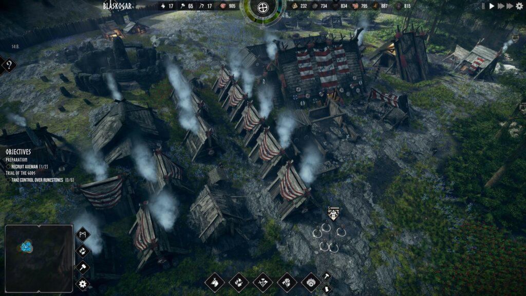 Frozenheim village
