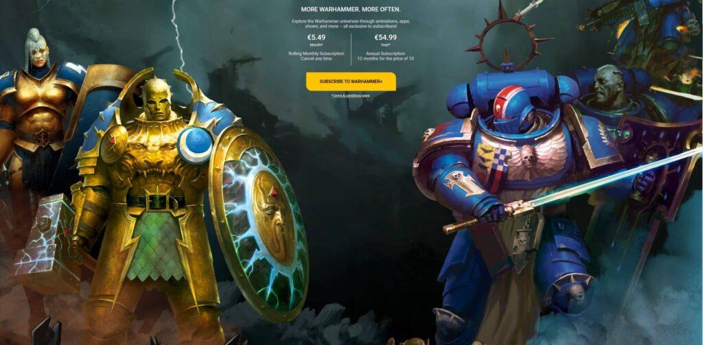 Games Workshop - warhammer plus