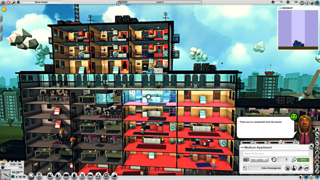 Mad Tower Tycoon for rent