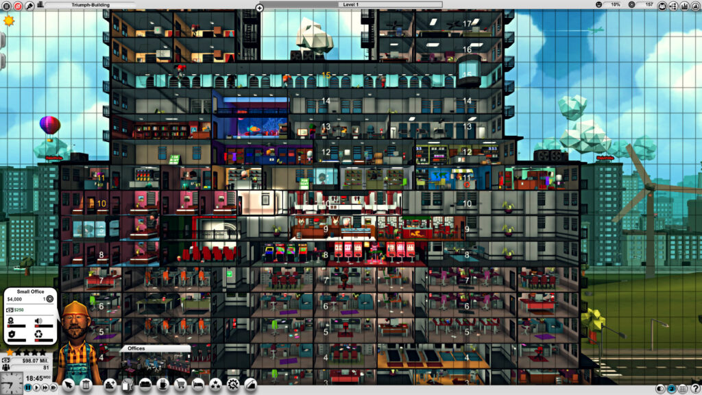 Mad Tower Tycoon working chaos
