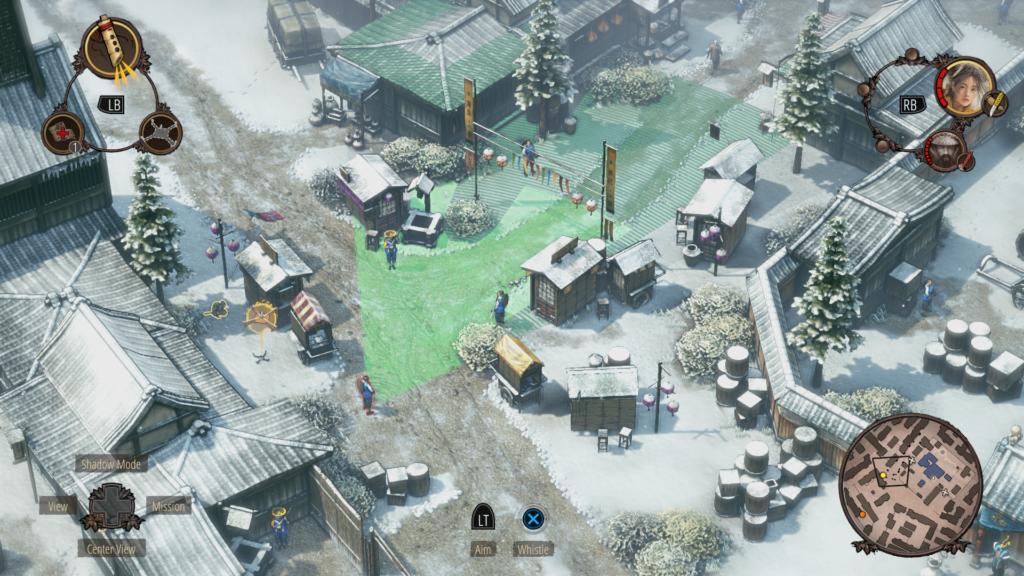 Shadow Tactics snow