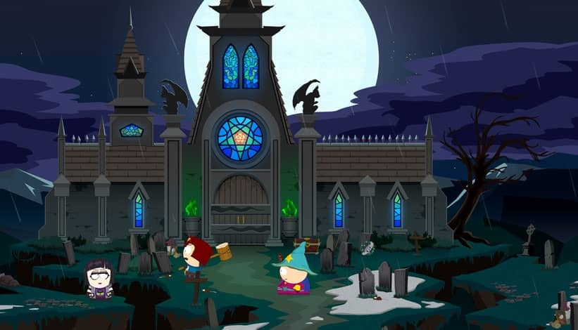 South Park – strašidelný hrad
