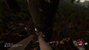 The Forest kácení stromu