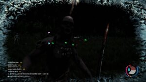 The Forest souboj katanou