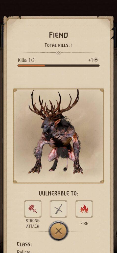 The Witcher Monster Slayer – bestiář