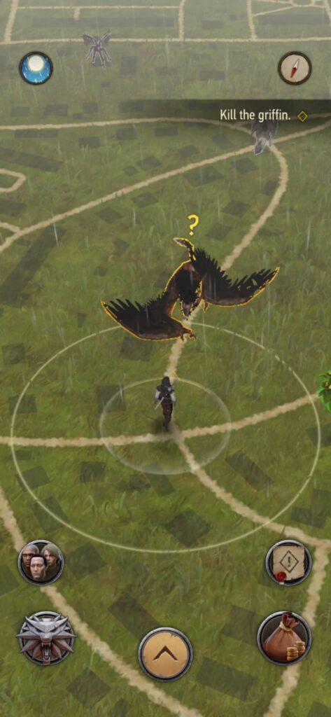The Witcher Monster Slayer – jde se na griffina