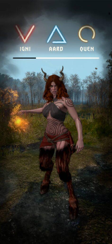 The Witcher Monster Slayer – znamení