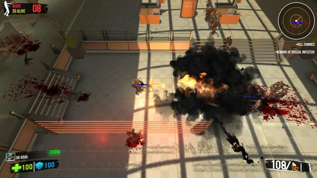 Ultimate Zombie Defense boom