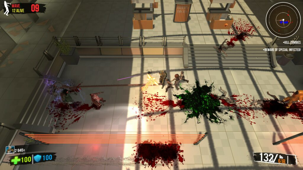 Ultimate Zombie Defense mall