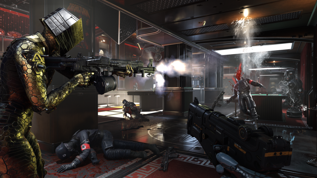 Wolfenstein Youngblood teamplay