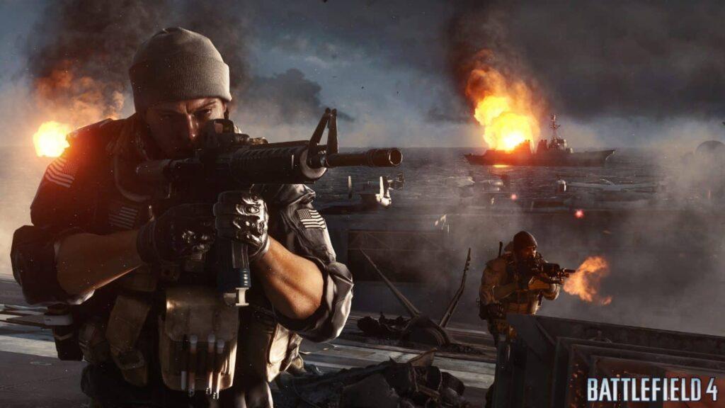 battlefield 4 voják
