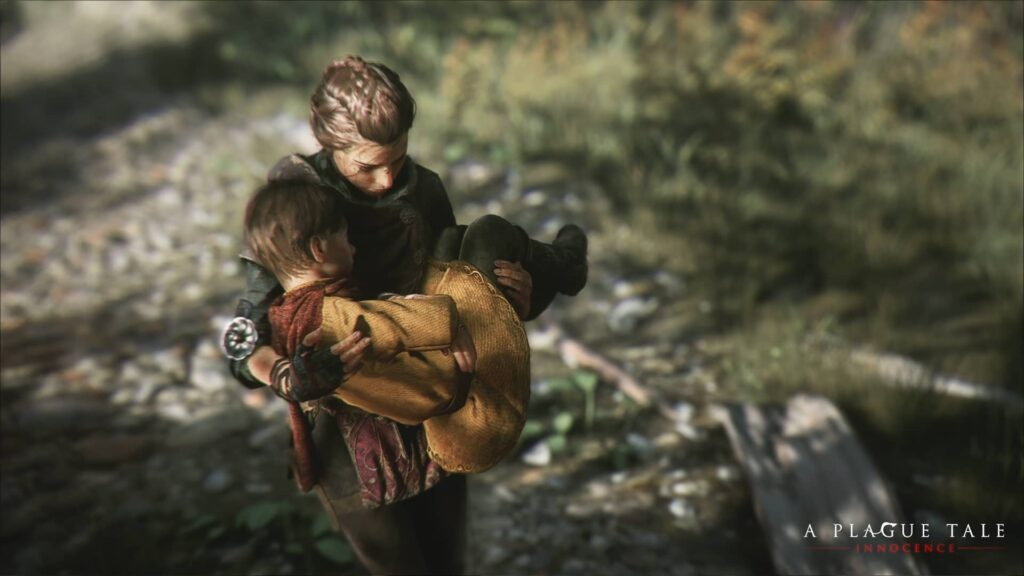 A Plague Tale Innocence - sourozenci
