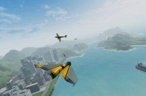 Balsa Model Flight Simulator letadla
