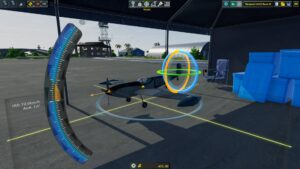 Balsa Model Flight Simulator letadlo