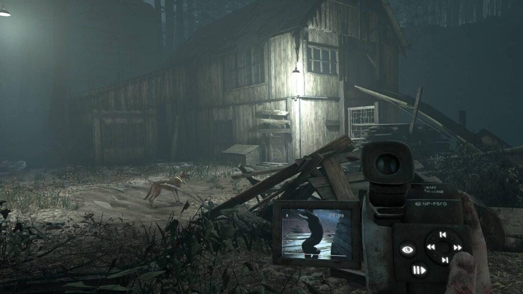Blair Witch VR kamera