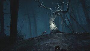Blair Witch VR strašidelný strom