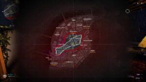 Bloodhunt mapa
