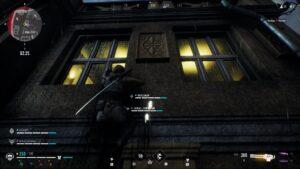 Bloodhunt šplhání po zdi