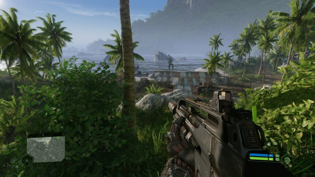 Crysis Remastered base