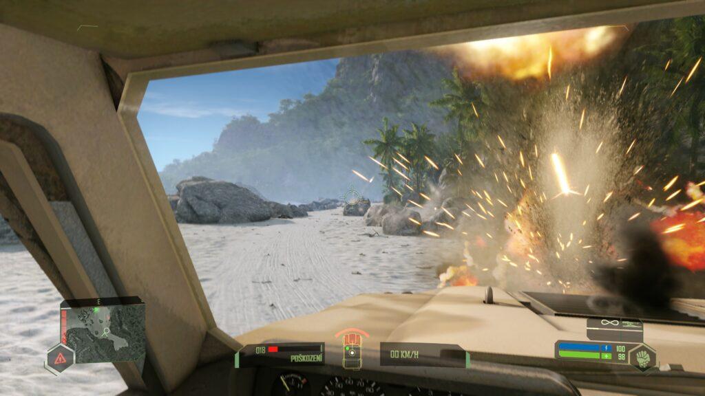Crysis Remastered boom
