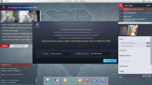 Cyber Manhunt databáze