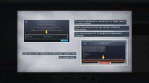 Cyber Manhunt používání datábáze
