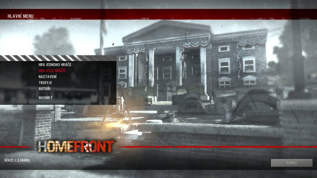 Homefront - Cover