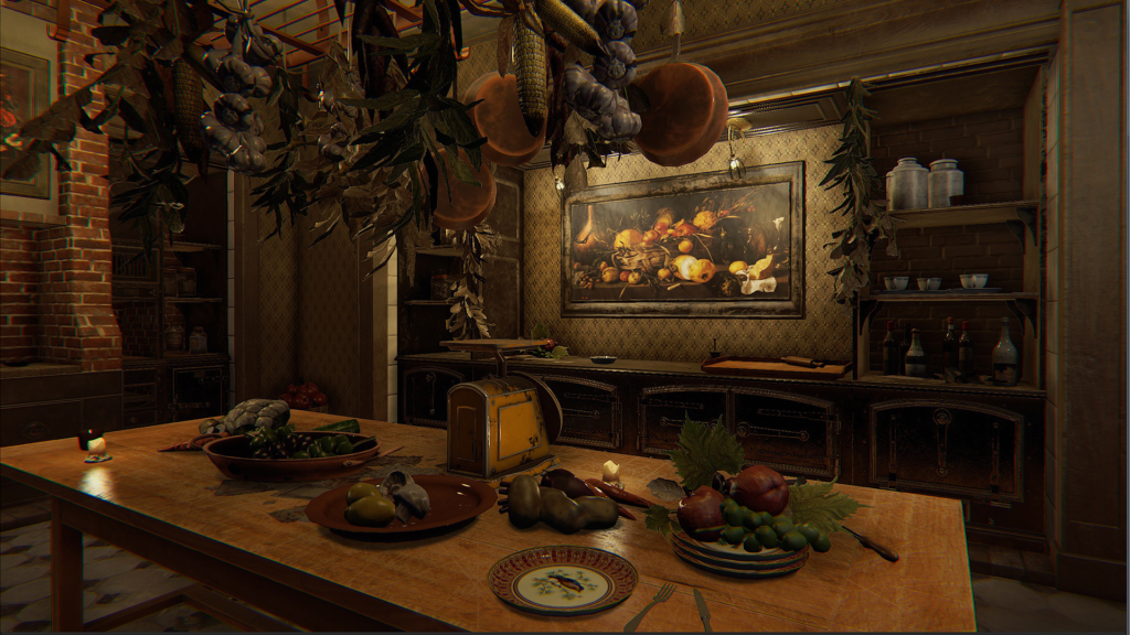 Layers of Fear strange table