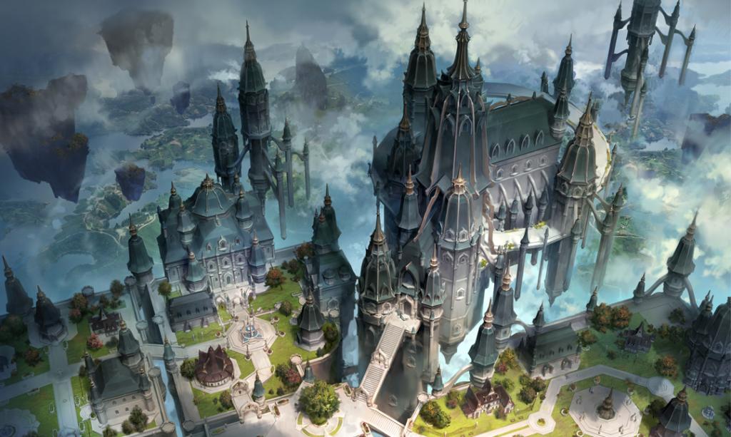 Lost Ark castle