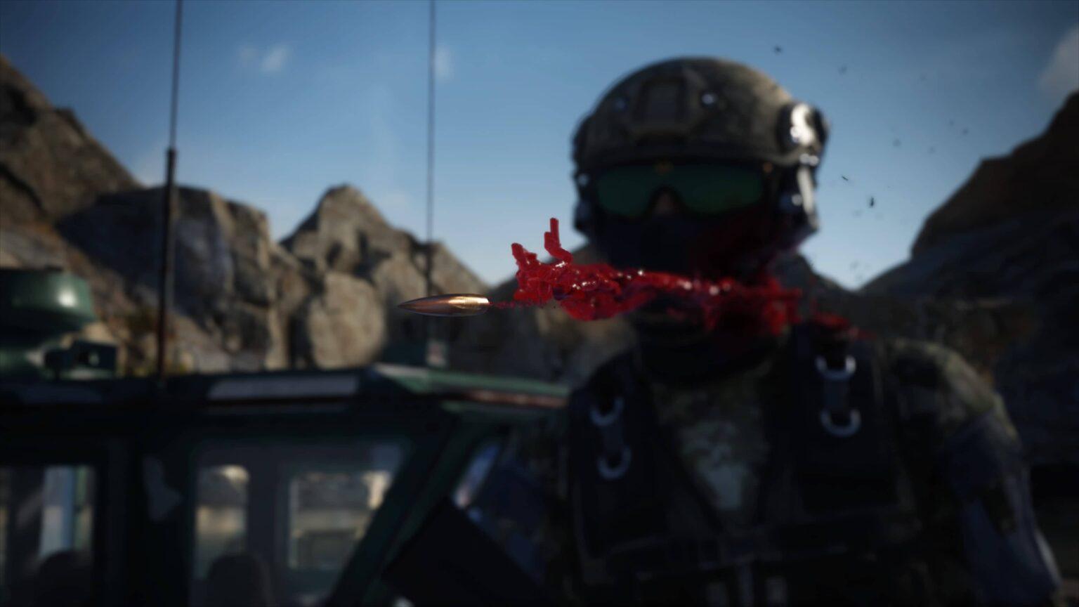Sniper Ghost Warrior Contracts 2 - prostřelení nepřítele