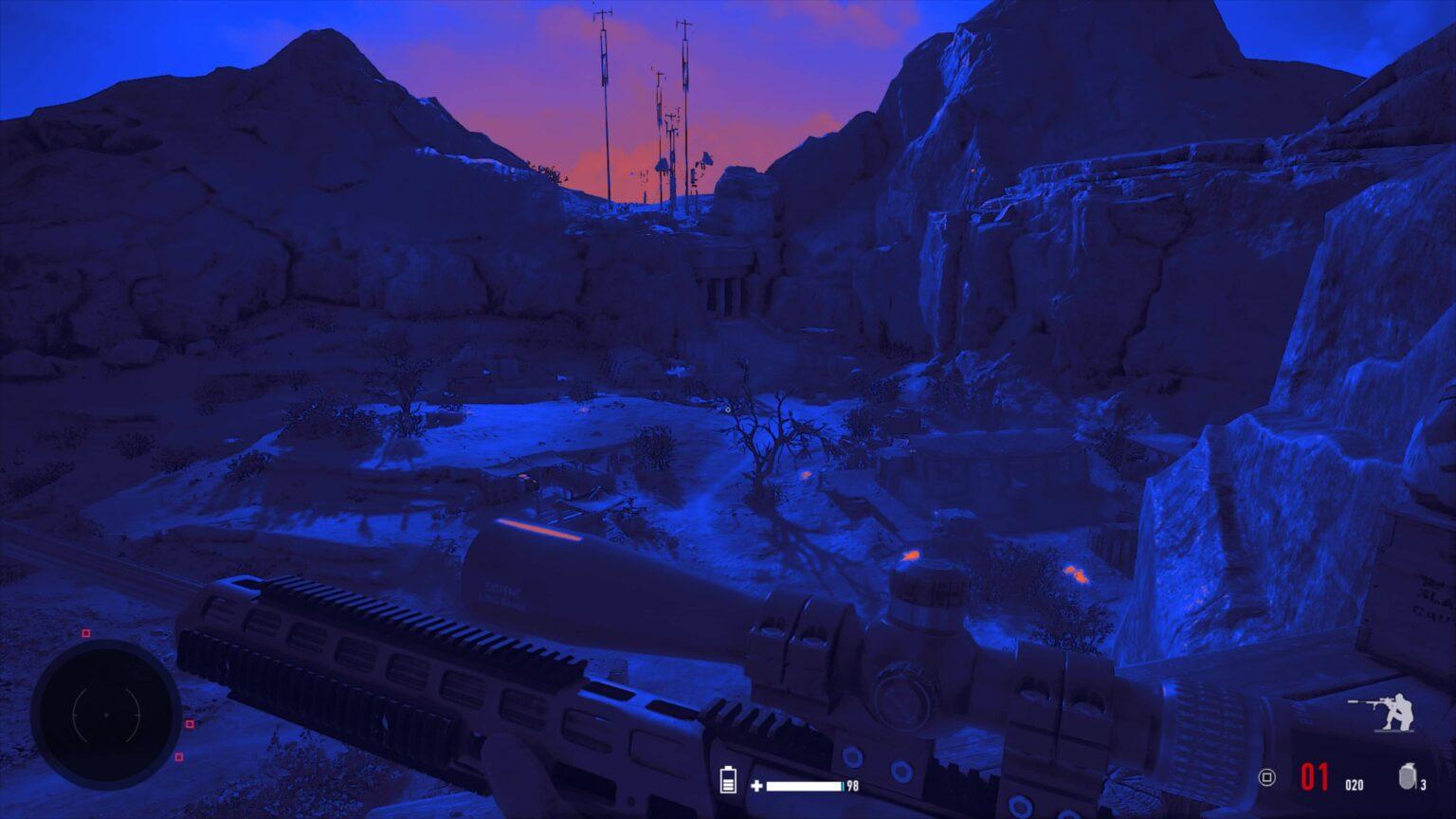 Sniper Ghost Warrior Contracts 2 - režimy viditelnosti